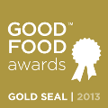 2013 Good Food Awards Gold Seal